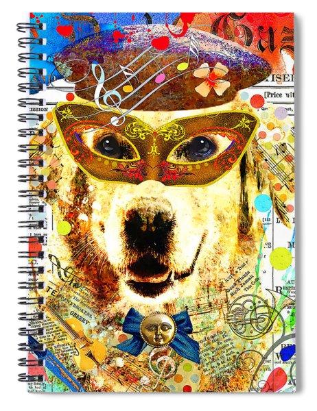 Dog Artist Spiral Notebook