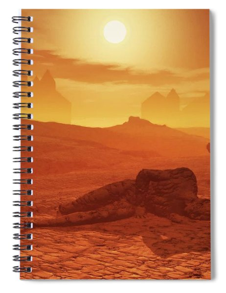 The Ash Vessels Spiral Notebook