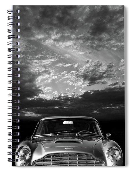 The Aston Db5 Spiral Notebook
