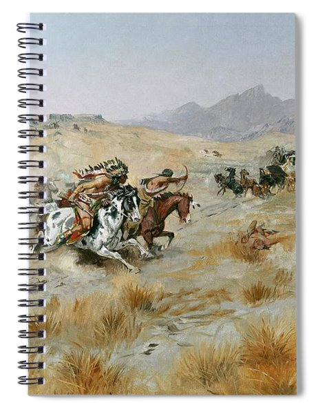 The Attack Spiral Notebook