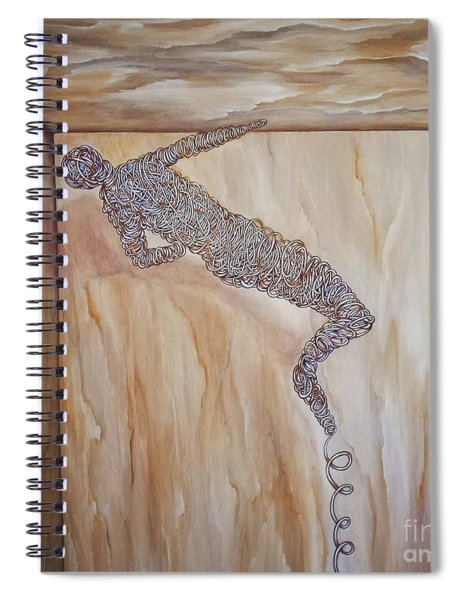 The Attempts Of Escape Spiral Notebook