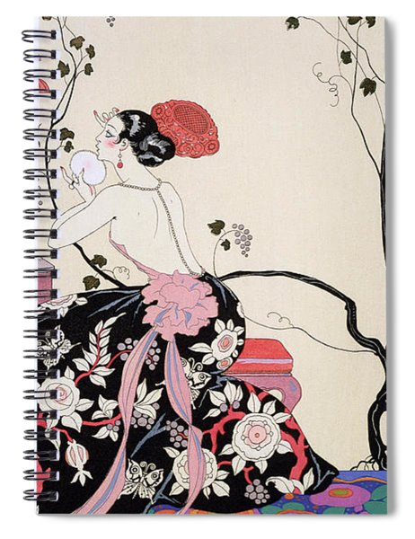 The Backless Dress Spiral Notebook