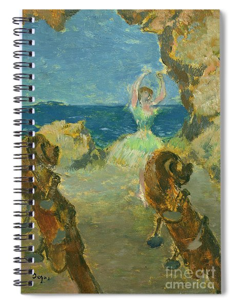 The Ballet Dancer Spiral Notebook