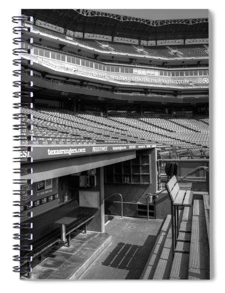 The Ballpark In Arlington Spiral Notebook