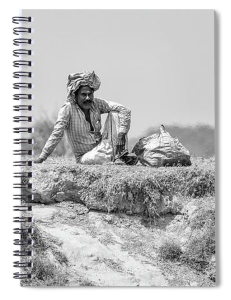 The Banks Of The Lower Ganges Spiral Notebook