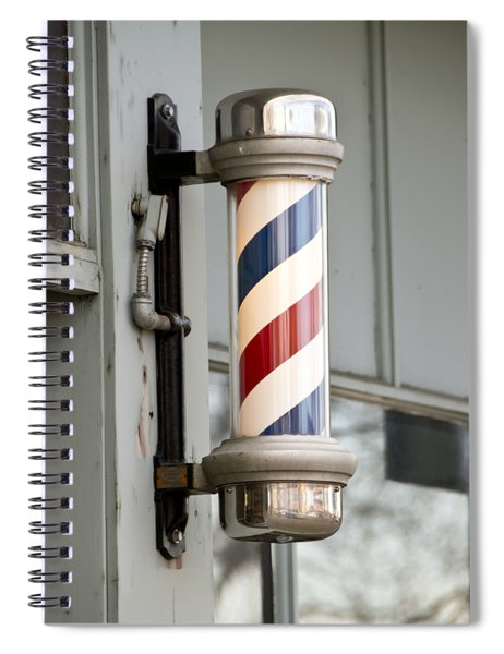 The Barber Shop 4 Spiral Notebook