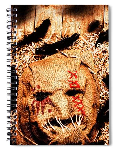 The Barn Monster Spiral Notebook