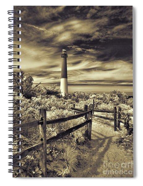 The Barnegat Lighthouse New Jersey Spiral Notebook