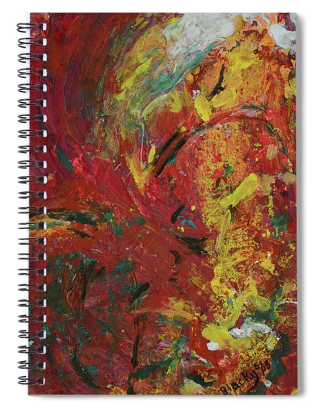 The Barren Earth Spiral Notebook