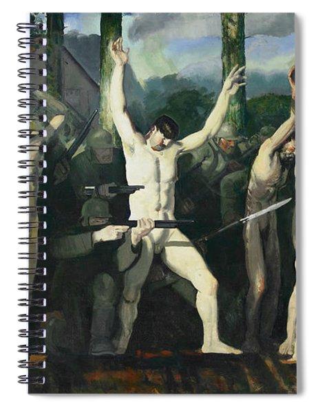 The Barricade Spiral Notebook