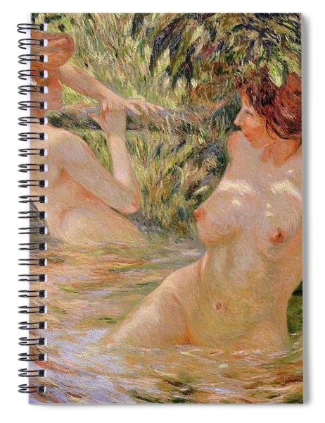 The Bathers Spiral Notebook