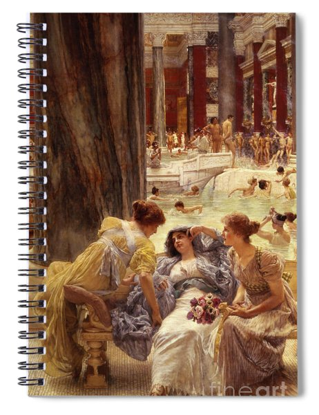 The Baths Of Caracalla Spiral Notebook