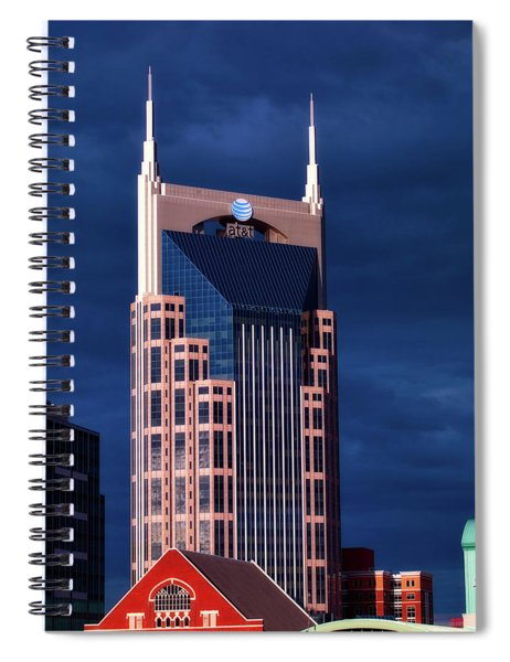 The Batman Building - Nashville Spiral Notebook