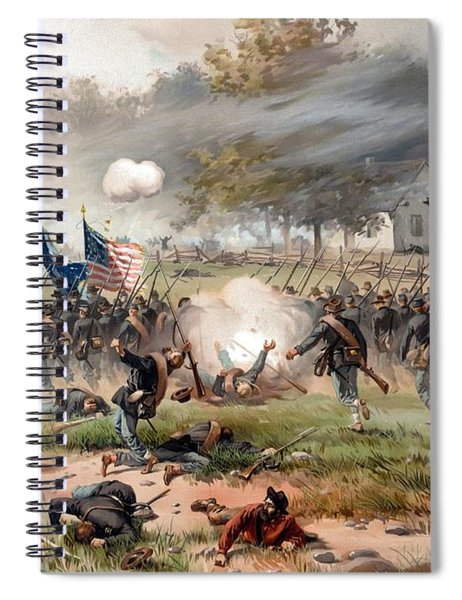 The Battle Of Antietam Spiral Notebook