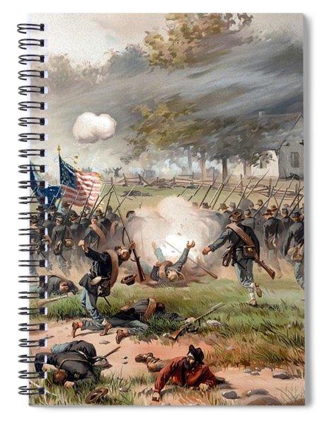 The Battle Of Antietam Spiral Notebook