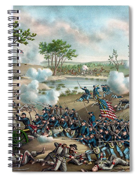 The Battle Of Cold Harbor Spiral Notebook