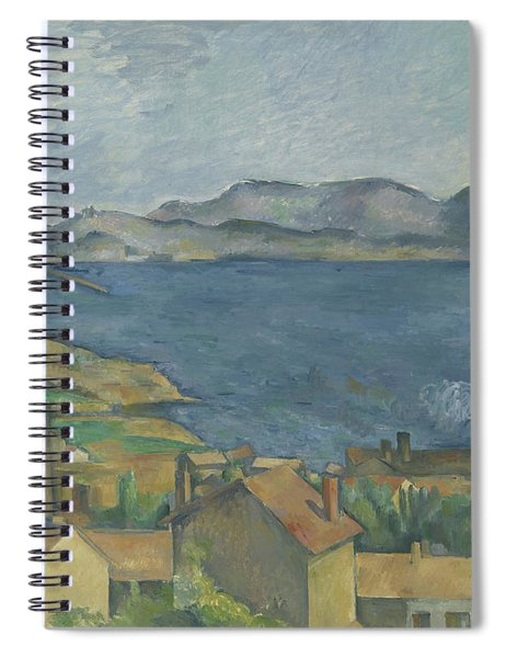 The Bay Of Marseille Spiral Notebook