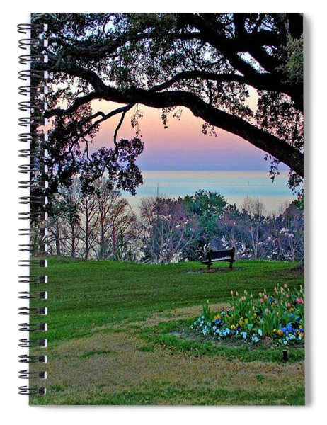 The Bay View Bench Spiral Notebook
