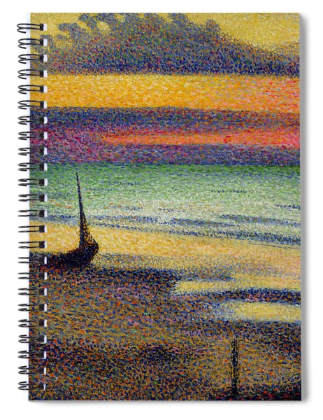 The Beach At Heist Spiral Notebook