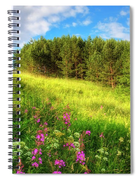 The Beach Meadow Spiral Notebook