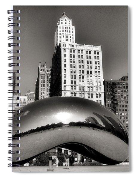 The Bean - 3 Spiral Notebook