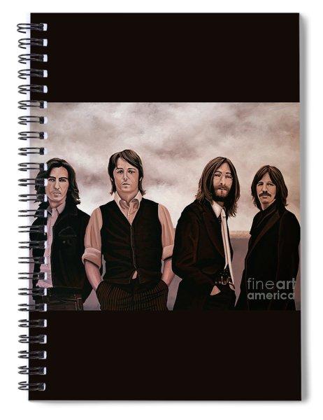 The Beatles 3 Spiral Notebook