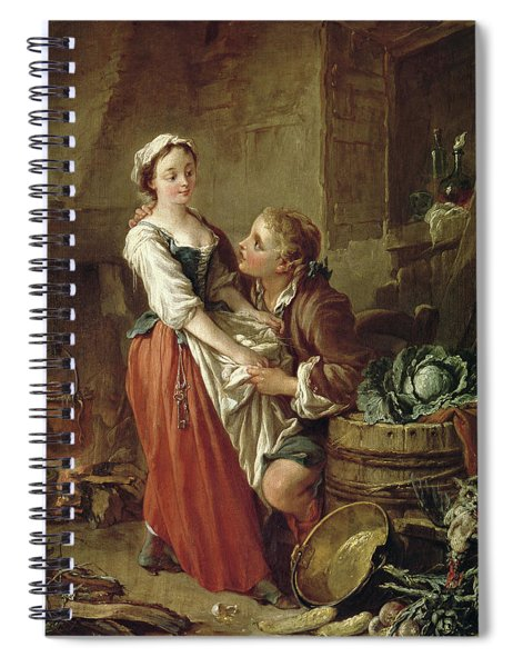 The Beautiful Kitchen Maid Spiral Notebook