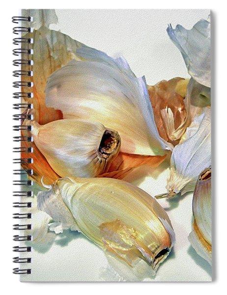 The Beauty Of Garlic Spiral Notebook