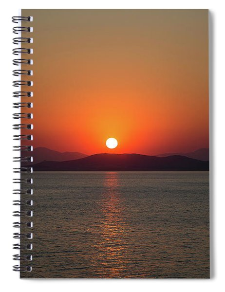 The Beauty Of Sunset Spiral Notebook