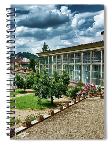 The Beauty Of The Boboli Gardens Spiral Notebook