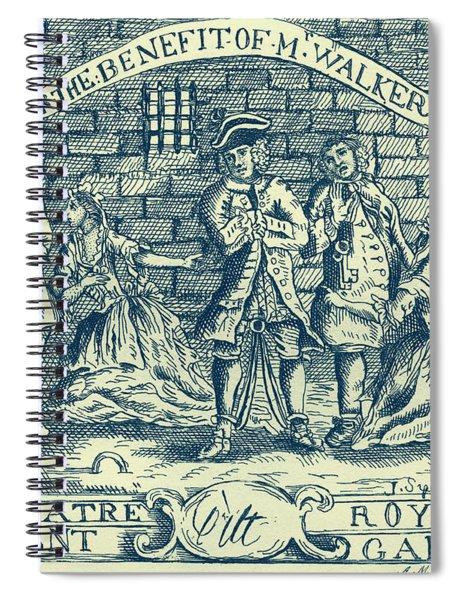 The Beggars Opera By John Gay Spiral Notebook