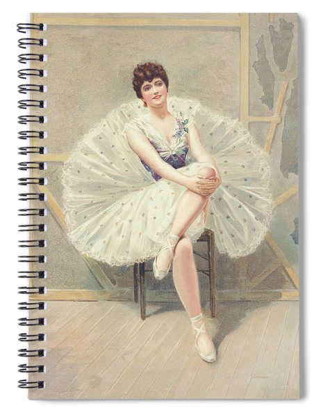 The Belle Of The Ballet, 1899 Spiral Notebook