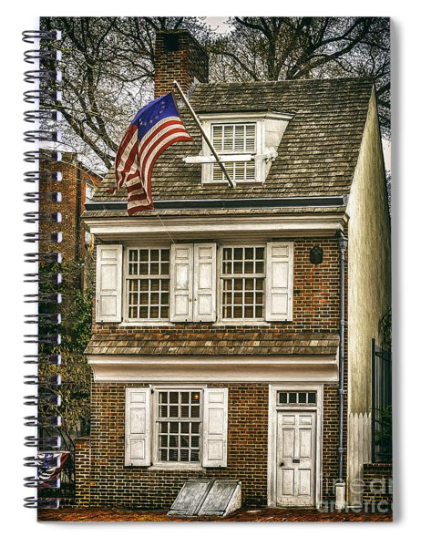The Betsy Ross House Spiral Notebook