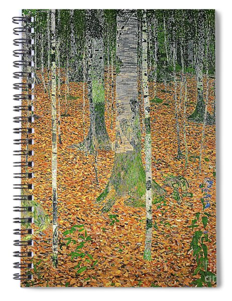The Birch Wood Spiral Notebook