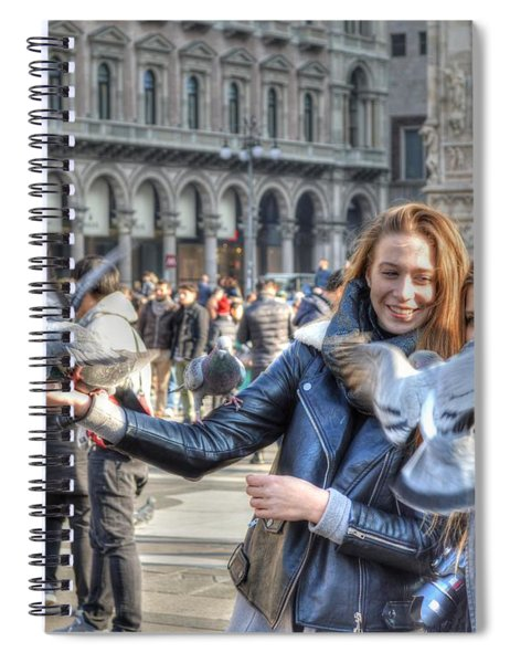 The Birds Of Milan Spiral Notebook