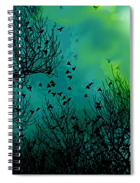 The Birds Of The Air  Spiral Notebook
