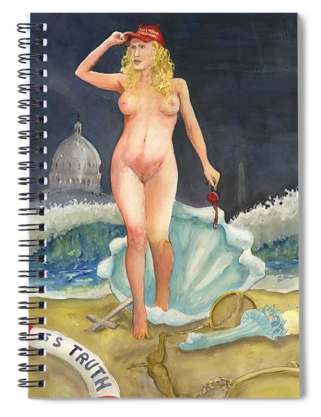 The Birth Of Stormy Rise Of The New Moral Spiral Notebook