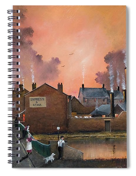 The Black Country Village Spiral Notebook