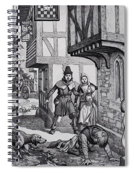 The Black Death Spiral Notebook