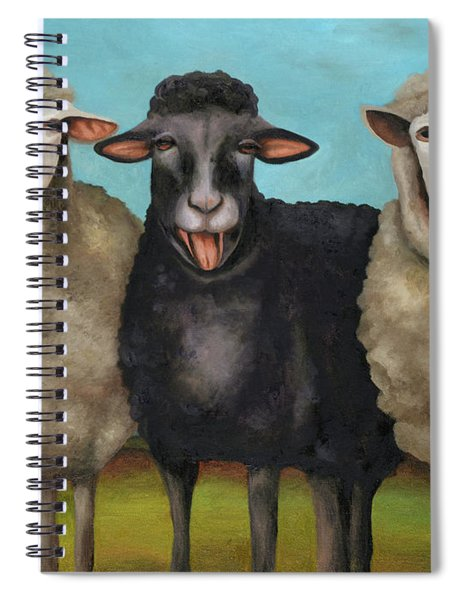 The Black Sheep Spiral Notebook