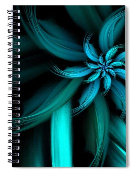 The Blue Dahlia Reprise Spiral Notebook