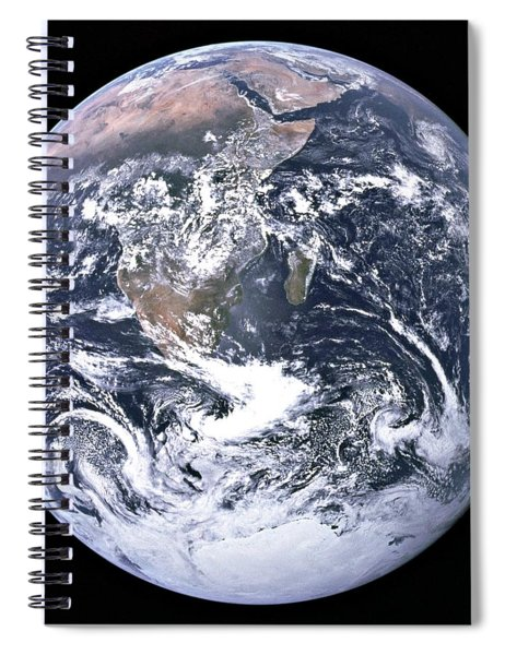 The Blue Marble Taken By Astronauts Aboard Apollo 17 In 1972 Spiral Notebook