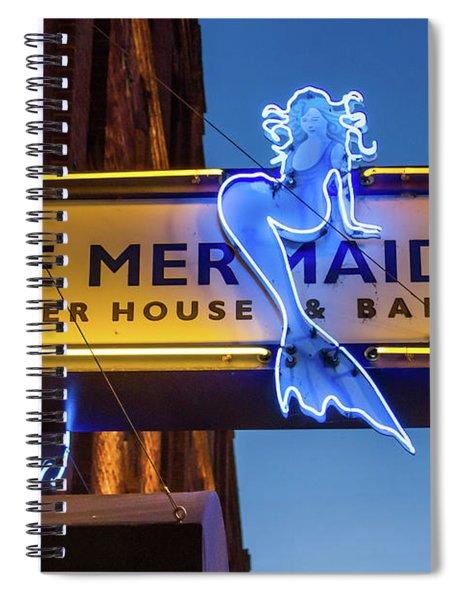 The Blue Mermaid Spiral Notebook