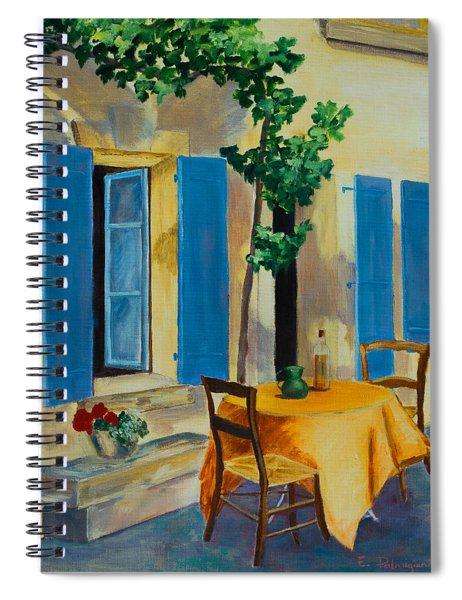The Blue Shutters Spiral Notebook