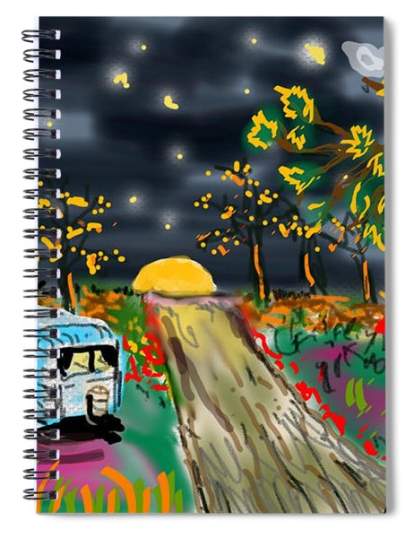 The Blue Trailer Spiral Notebook