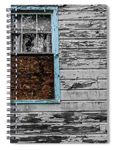 The Blue Window Spiral Notebook