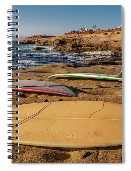 The Boards Spiral Notebook