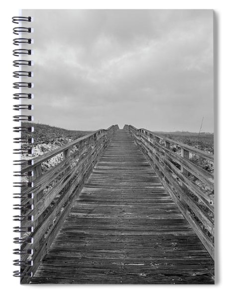 The Boardwalk To The Shore  Spiral Notebook