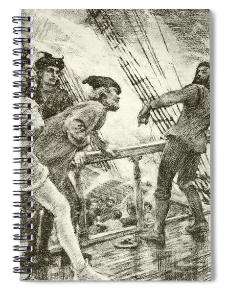 The Boatswain Spiral Notebook