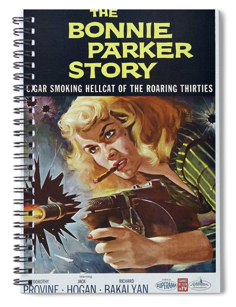 The Bonnie Parker Story 1958 Spiral Notebook